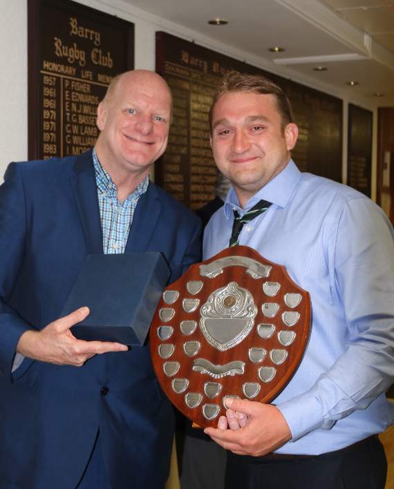 Barry RFC welcome Phil Steele for annual presentation evening