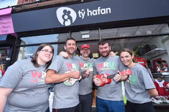 WRU comes to Barry to raise cash for Ty Hafan