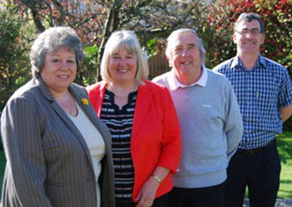 Llantwit First Independents team for local elections