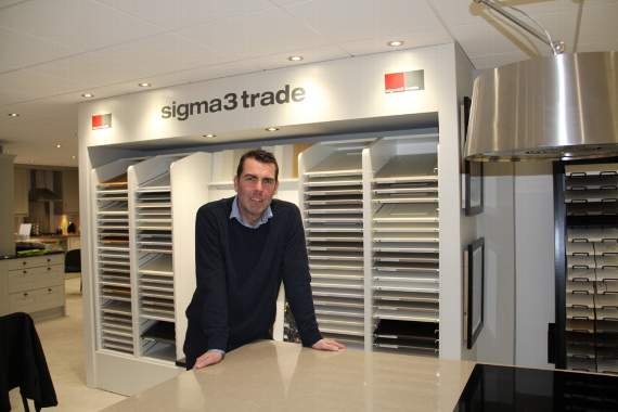 New trade sale manager sets sights high at Sigma 3