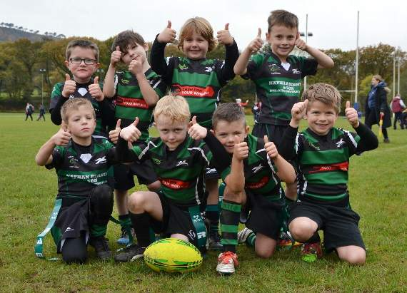 Great first year of rugby for Porthcawl RFC under-7s!