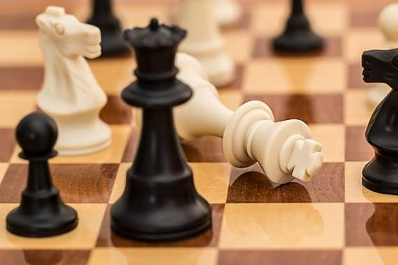 Keen competition at Barry Chess Club