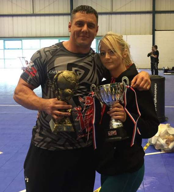 Wales' strongest couple head for British finals