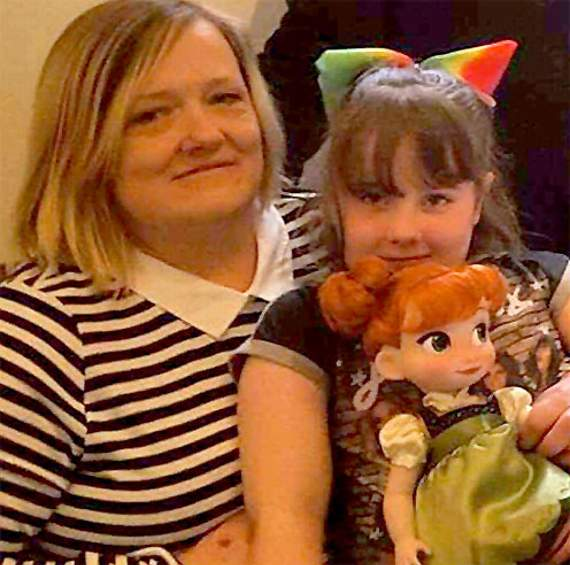 Second birthday party for sad Sophie after children failed to turn up to first one!